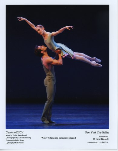 Wendy Whelan and Benjamin Millepied in New York City Ballet's 'Concerto DSCH'