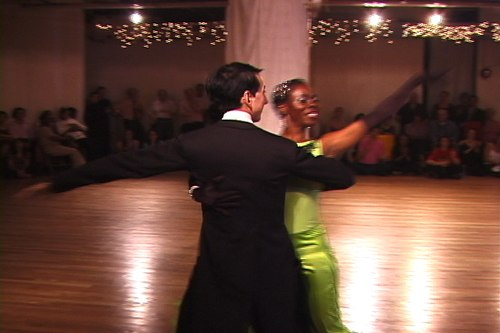 Stepping Out Studios April 25, 2008 Student Showcase Yvonne Smith & Jamie Cunneen (instructor) - Foxtrot