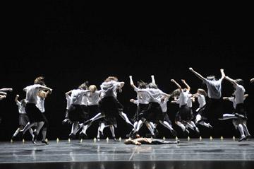 Members of Royal Ballet of Flanders
