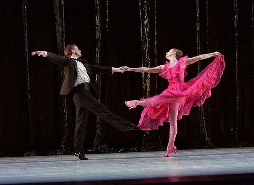 The Washington Ballet's Morgan Rose and Jonathan Jordan in Nine Sinatra Songs.