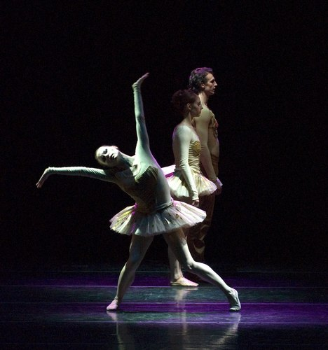 Boston Ballet's Heather Myers, Melissa Hough, and Sabi Varga in Brake the Eyes
