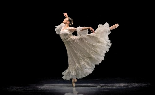 The Joffrey Ballet's Emily Patterson in Lilac Garden