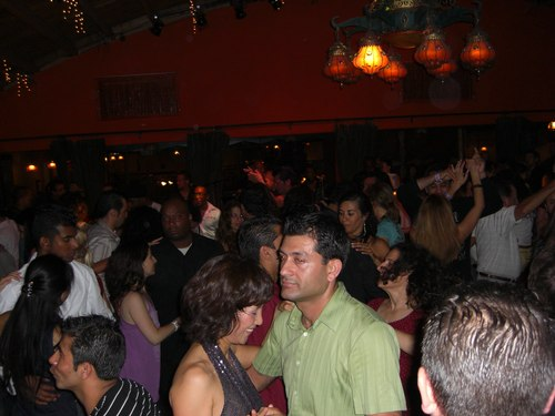 Salsa at the Monsoon Cafe