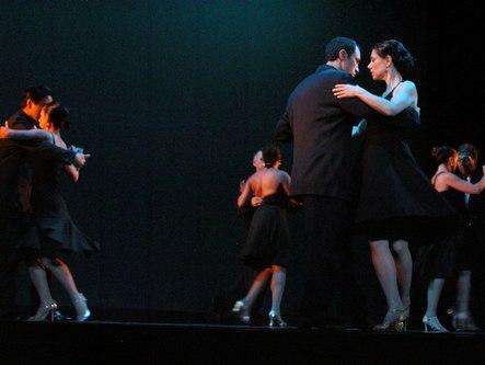 Sandra Cameron Tango Company in Bahia Blanca