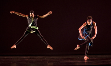 Garth Fagan Dance Dancers: Norwood Pennewell and Nicolette Depass