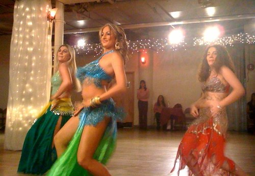 And more belly dancing