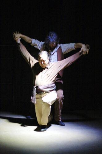 Jorge Navarro and Antonio Hidalgo in 'Los Mineros'