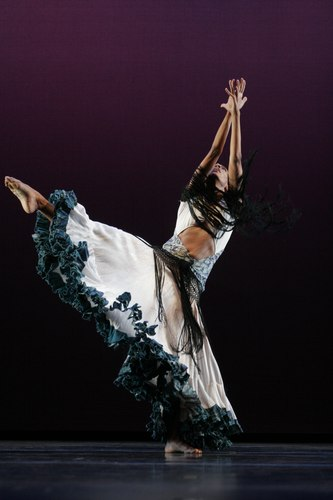 Roxanne O'Orleans Juste in Donald McKayle's 'Angelitos', part of the Limon repertoire
