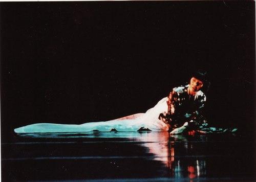Saeko Ichinohe as Lady Rokujo in 'The Tale of Genji'