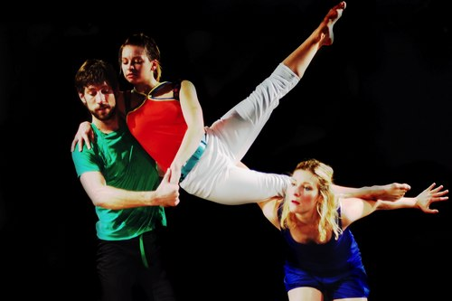 Luke Gutgsell, Brynne Billingley and Jennifer C. Harmer in 'Too Late Tulip'