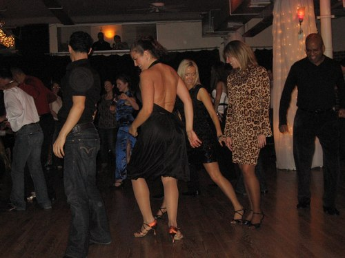 Doing the Electric Slide long after Midnight