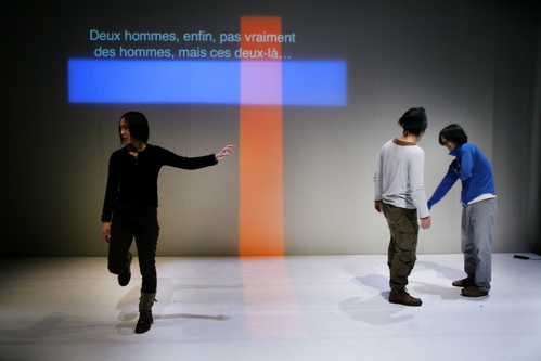 Rukino Yamazaki, Eiji Takigawa, Taichi Yamagata 5/07 Paris