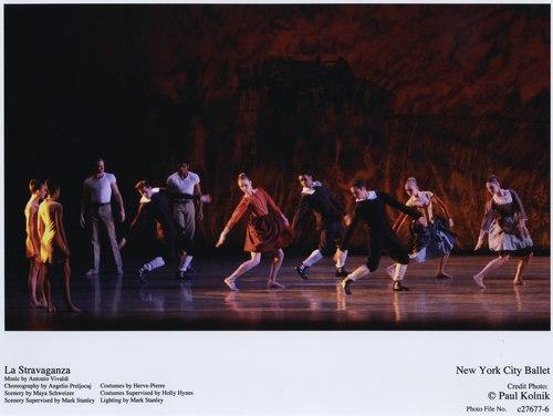 New York City Ballet performs La Stravaganza
