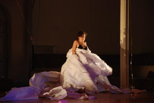 Nitzan Lederman in 'Air and Fold'