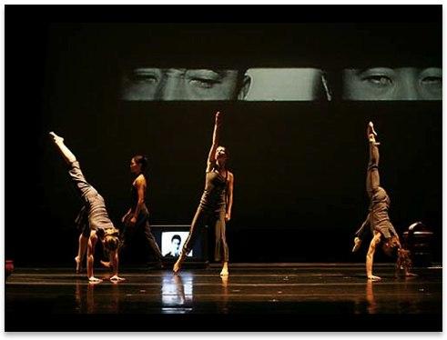 Dana Tai Soon Burgess & Company's 'Hyphen' Dancers: Sarah Halzack, Shu-Chen Cuff, Jennifer Rain Ferguson, Tati Valle-Riestra