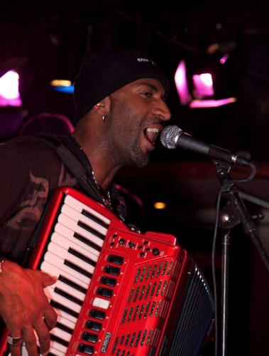Curley Taylor plays at Connolly's with his Louisiana Band Zydeco Trouble