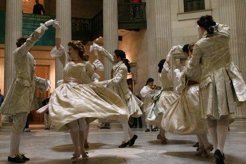 Baroque dancing