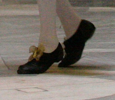 Baroque shoes (Detail of previous photo)