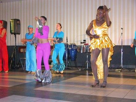 A Caribbean dance
