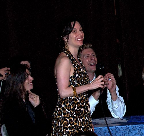 Sarah La Rocca, the leader of the All Night Milonga at Stepping Out Studios