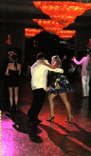 Donna Boyle on the Dance Floor