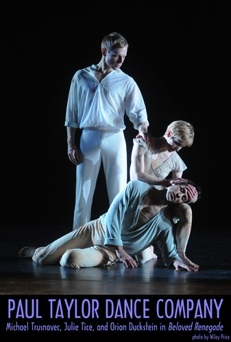 Paul Taylor Dance Company's Michael Trusnovec, Julie Tice and Orion Duckstein in <i>Beloved Renegade</i>