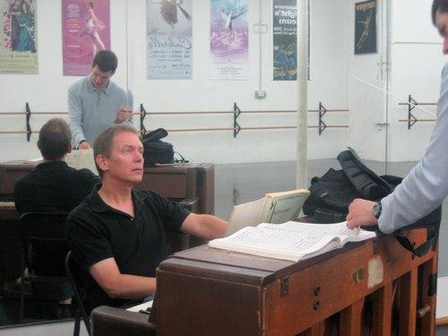 John Stubbs mentoring pupil William Zauscher