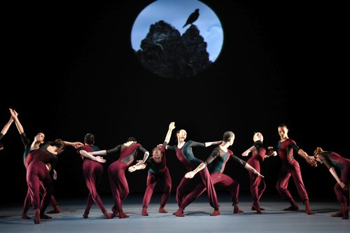 Dancers of Shen Wei Dance Arts in Shen Wei's 'Re - (II)' at Lincoln Center Festival (Photo also courtesy of Lincoln Center)