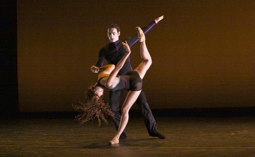 Ballet Hispanico's world premiere of 'Locked Up Laura' Photo courtesy of Jacob's Pillow.