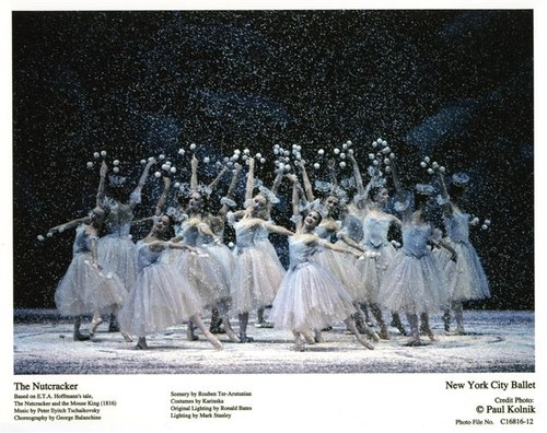 New York City Ballet's 'The Nutcracker' - the snow fairies