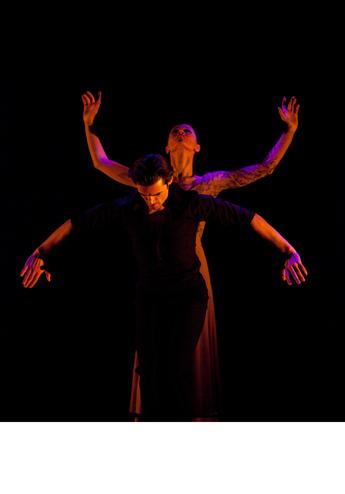 Angel and Carmen Corella in 'Soleá'