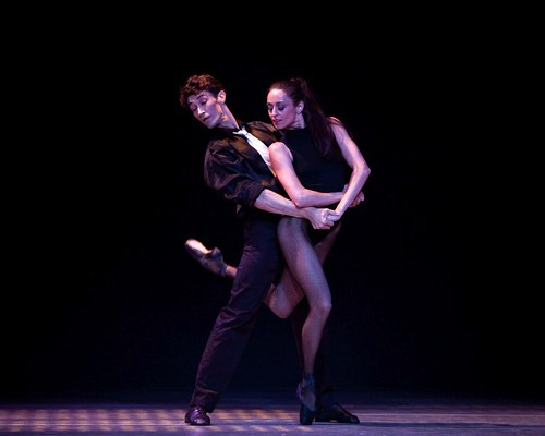 Metropolitan Classical Ballet, Cafe Victoria. Choreography by Paul Mejia Dancers: Vilia Putruis and Mindaugas Bauzys
